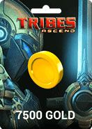 Tribes Ascend 7500 Gold