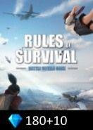Rules of Survival 180+10 Diamonds