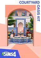 The Sims 4 Courtyard Oasis Kit Origin PC Key